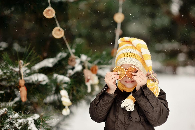 Photograph orange winter by Alena Vlasko on 500px