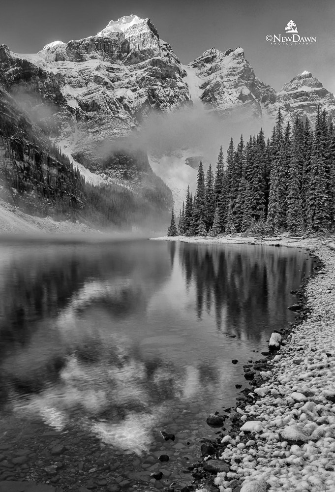 Photograph Lake Moraine, Canadian Rockies by Patrick Kriner on 500px