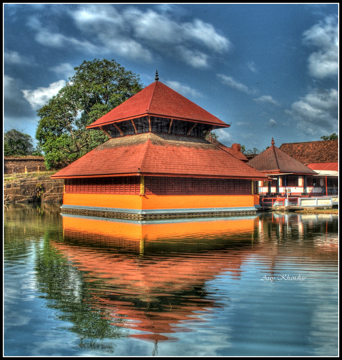 Photograph Floating Temple by Ajay Khandige on 500px