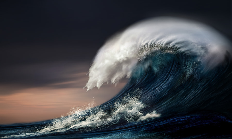 Wave ll by nikos Bantouvakis on 500px.com