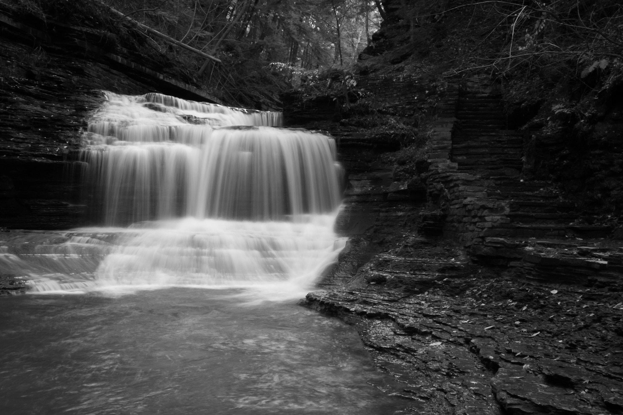 Photograph Serenity Falls by Kenneth Williams on 500px
