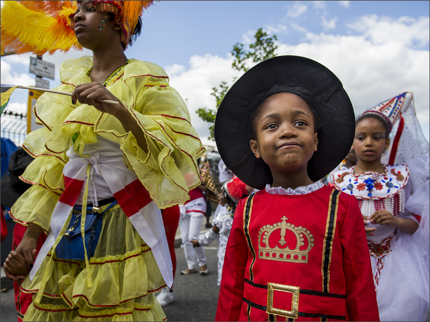 """Photograph Young """"Beefeater"""" at the Notting Hill Carnival by Tony Smith on 500px"""