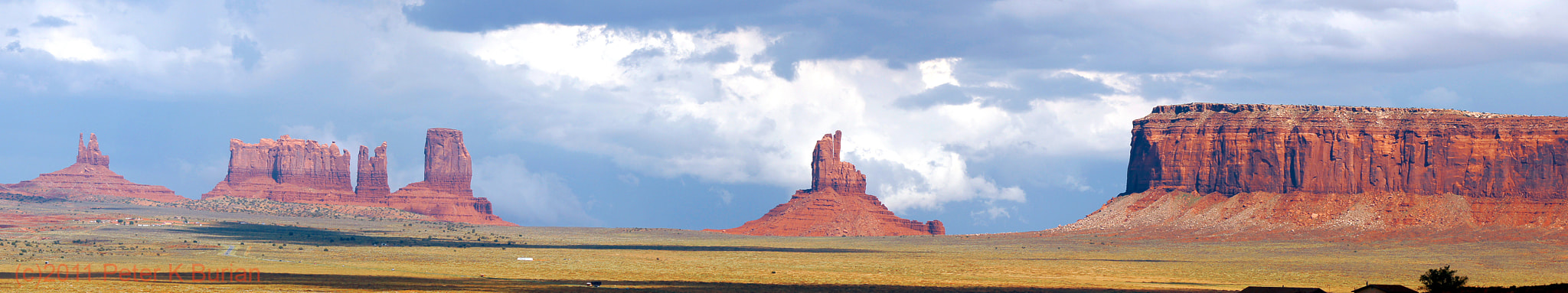 Photograph Monument Valley, Panorama by Peter K Burian on 500px
