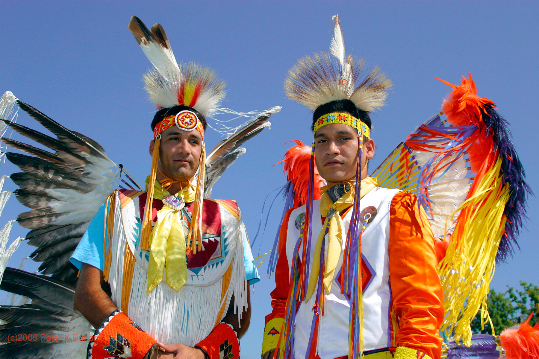 Photograph Canadian First Nations Brothers by Peter K Burian on 500px