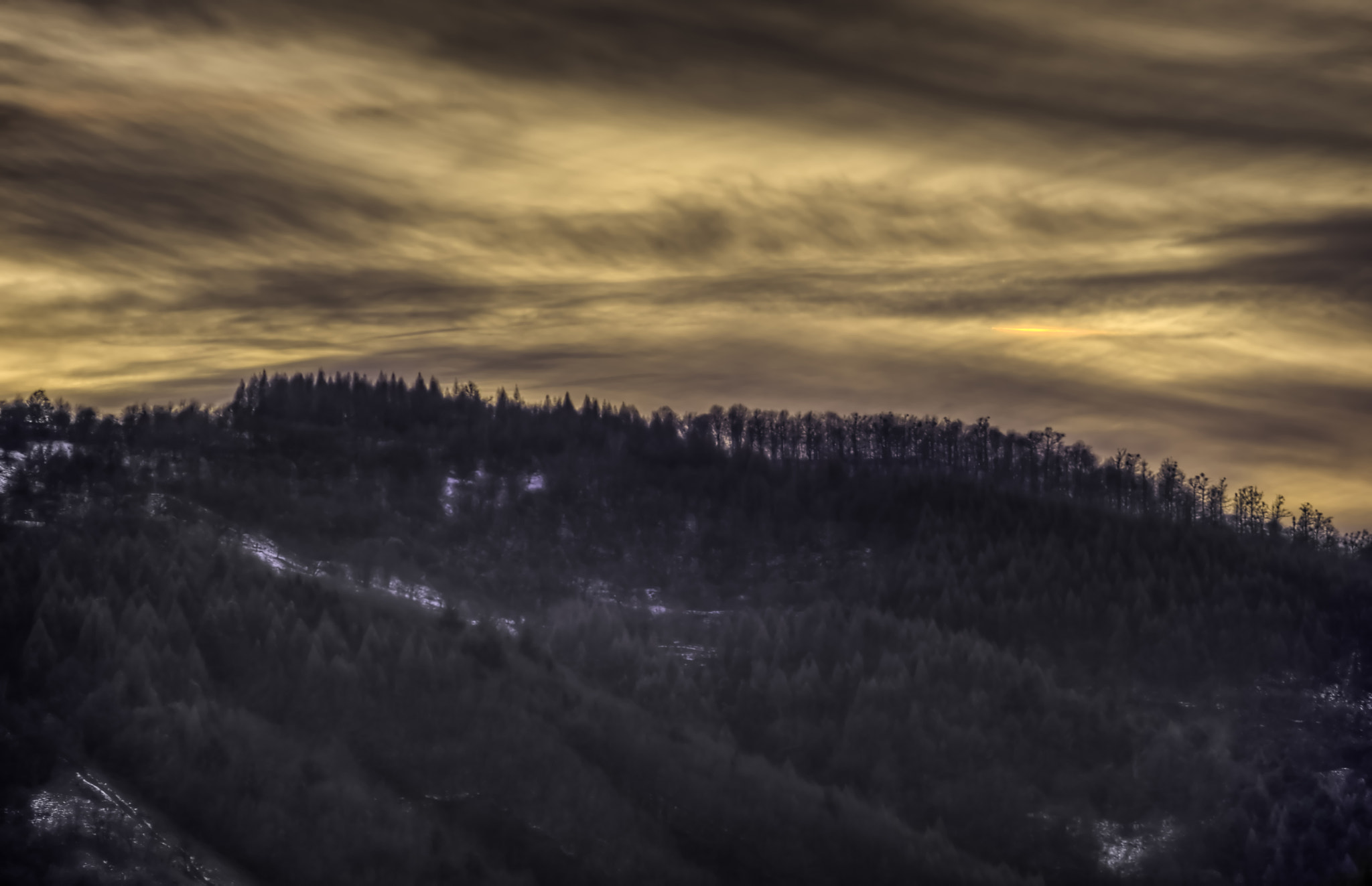 Photograph Evening sky over Solovan by Sorin Markus on 500px