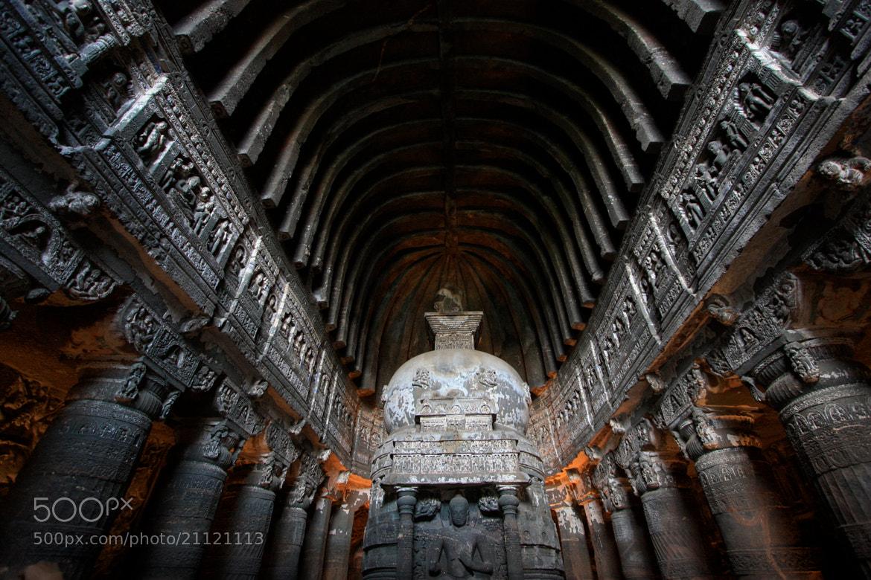 Photograph Ajanta caves, Aurangabad, Maharashtra, India by Gio TheDrifter on 500px