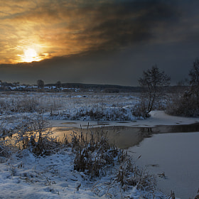 Morning of winter. by Olga Shiropaeva (Olga_Shiropaeva)) on 500px.com