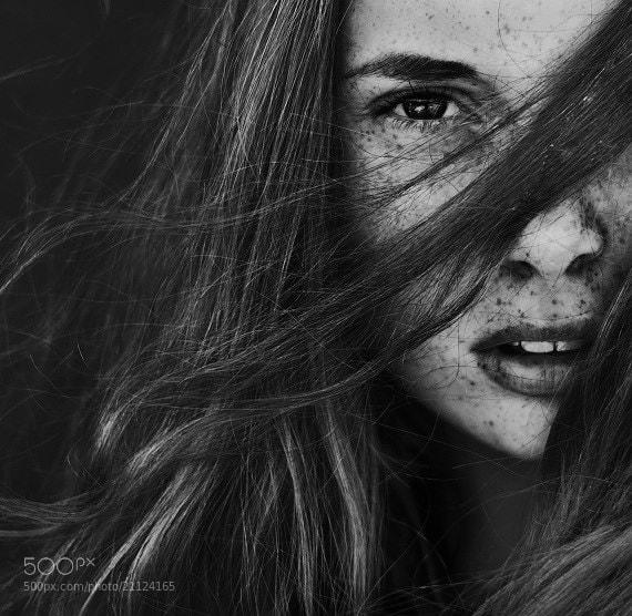 Photograph Freckles by Mathilde Vesterherup on 500px