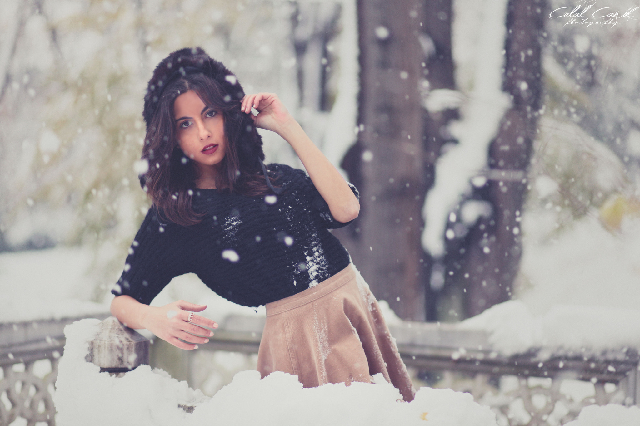 Photograph snow by Celal Canik on 500px