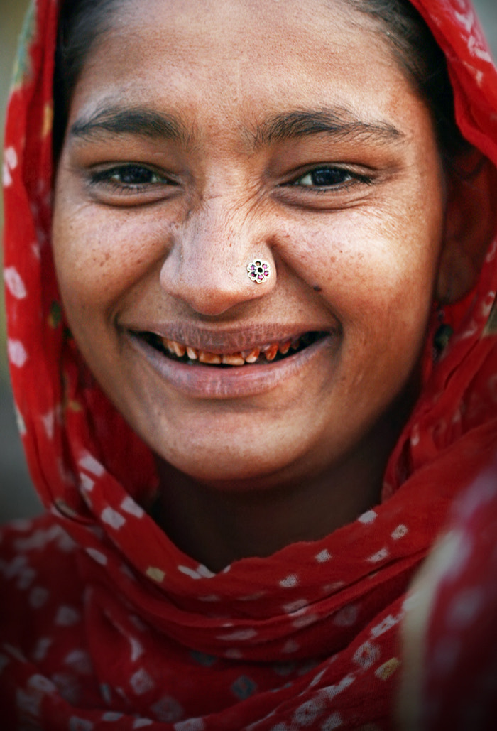Photograph Rajasthan's smile by Woosra Kim on 500px