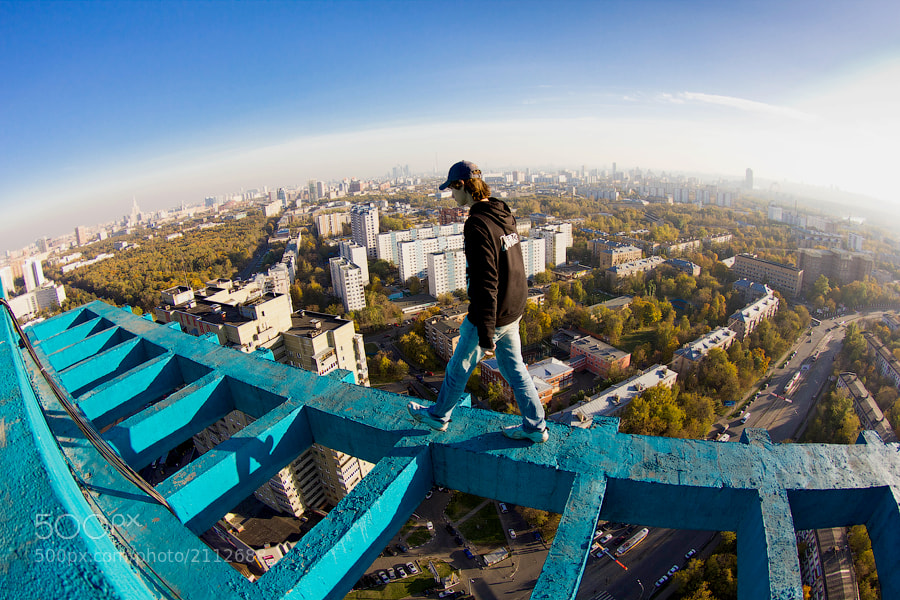 Photograph Walking on the edge by Marat Dupri on 500px