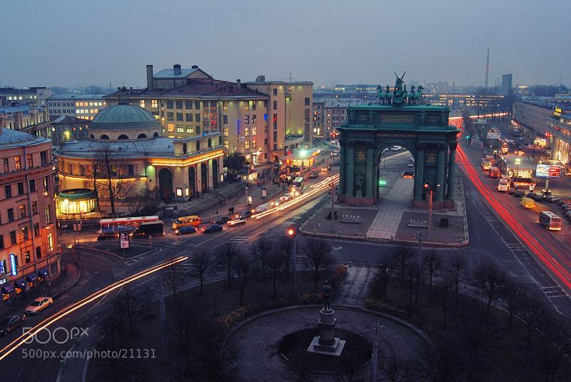 Photograph Площадь Стачек by Georgy Tolstoy on 500px