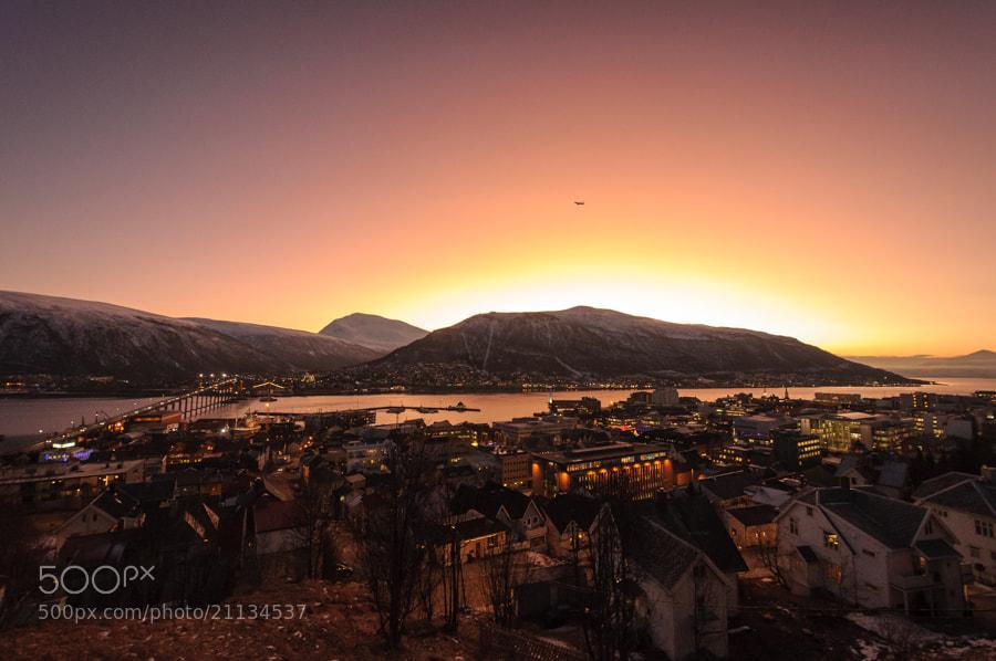 Photograph December morning in Tromsø by Terje Lein-Mathisen on 500px