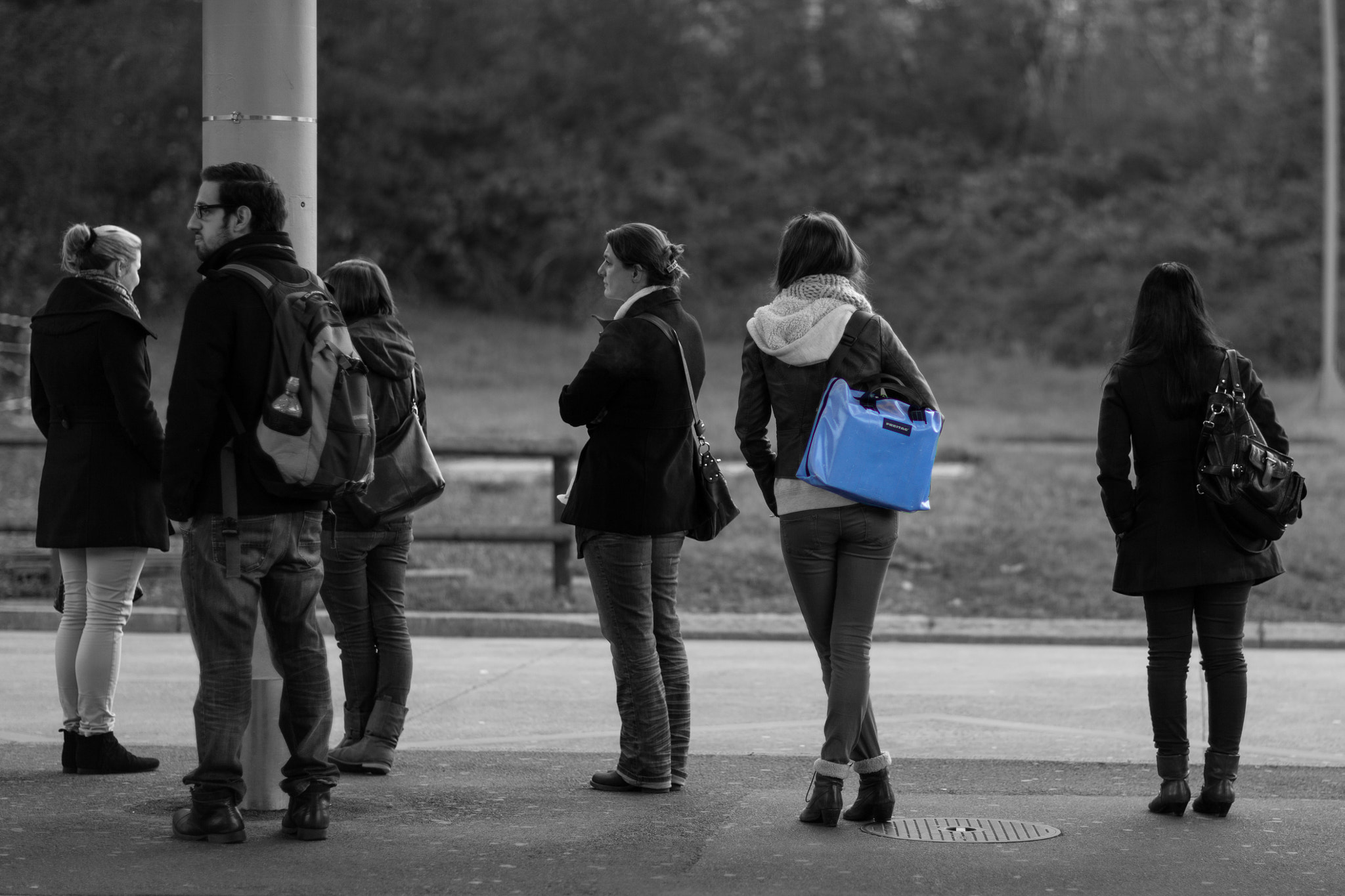 Photograph Waiting for the Bus by Xavier   on 500px