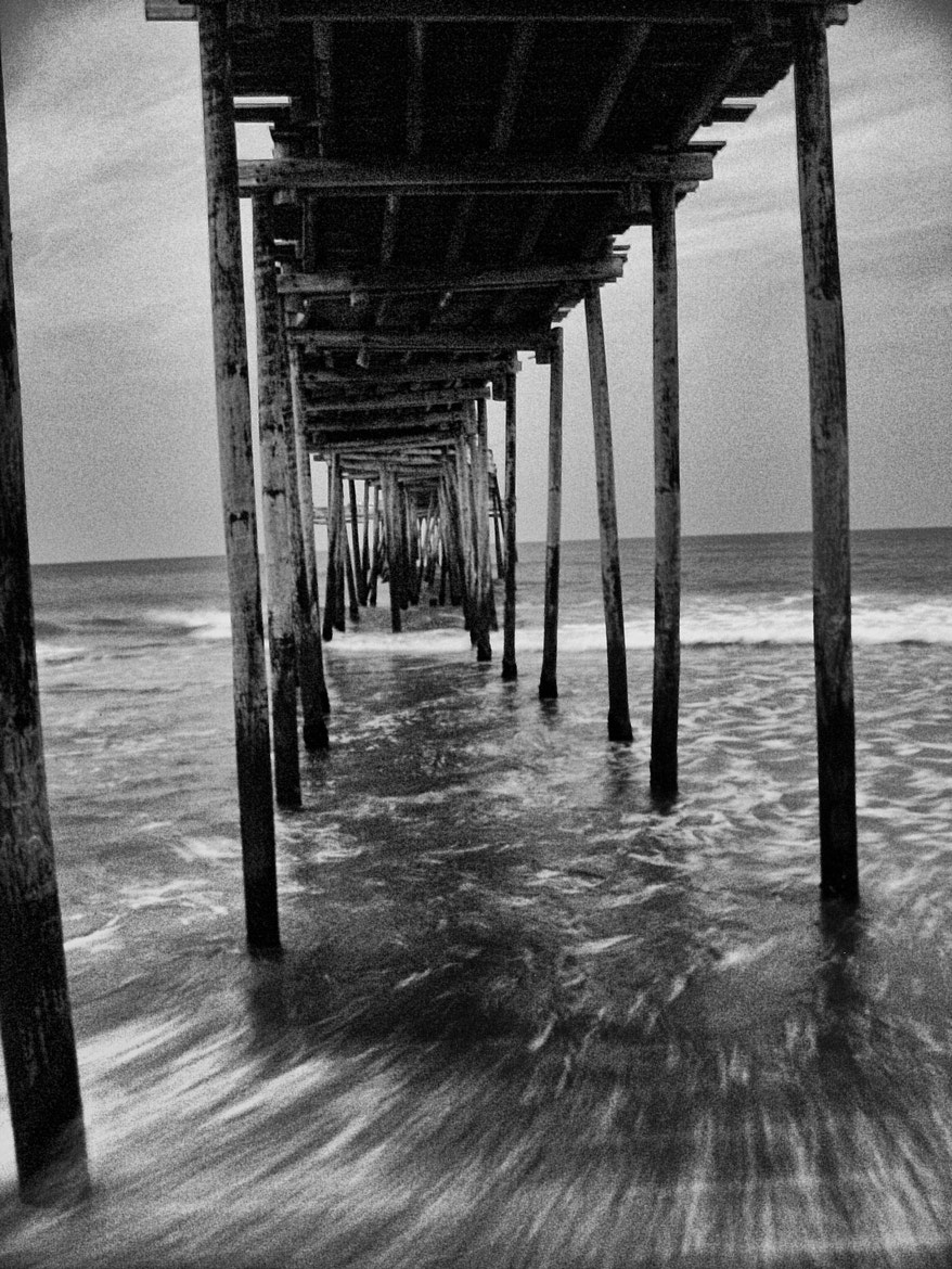 Photograph Pier Under by Jeff Conrad on 500px