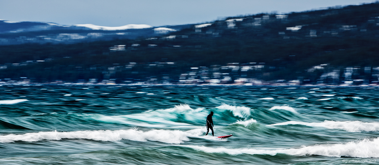 Photograph Scott Gaffney  / Lake Tahoe Surf by Grant Kaye on 500px