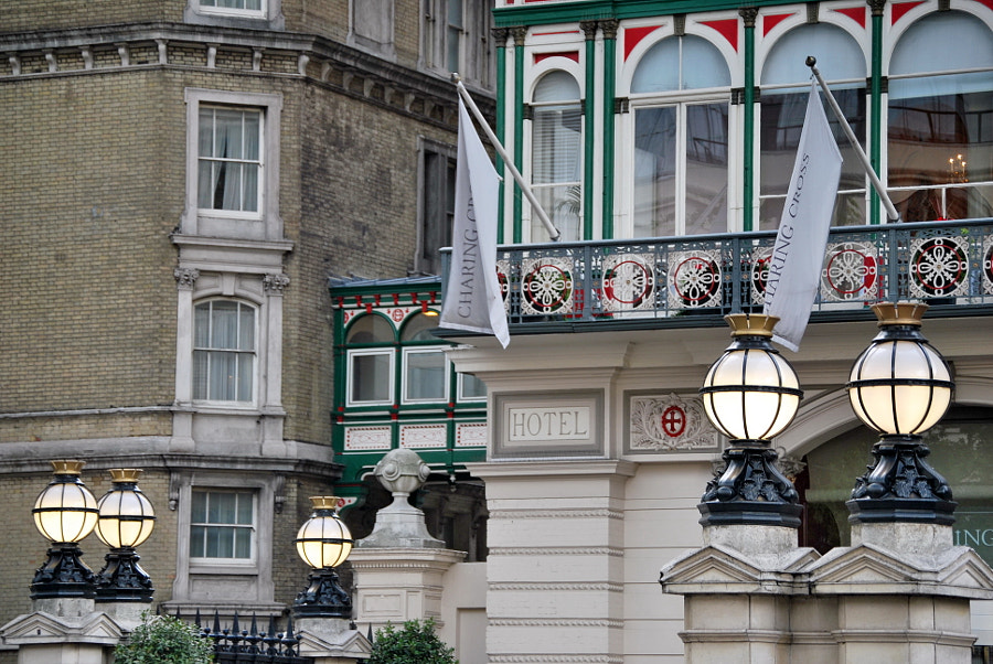 Charing Cross Hotel, London by Sandra on 500px.com