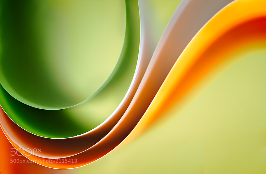 Photograph Paper Waveforms by Nilesh Bhange on 500px