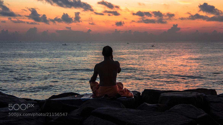 Photograph Yogi on the Beach by Prateek Pamecha on 500px