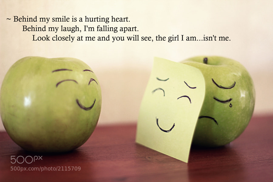 Hiding Behind A Smile Quotes. QuotesGram