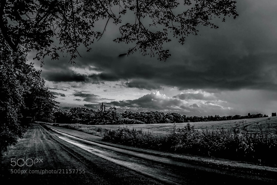 Photograph Stormy Road by julian john on 500px