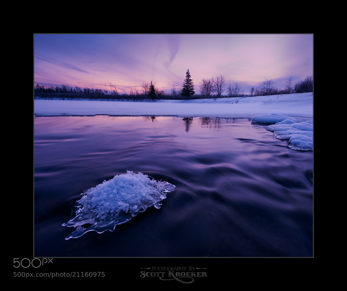 Photograph Ice Cold Sunset by Scott Kroeker on 500px