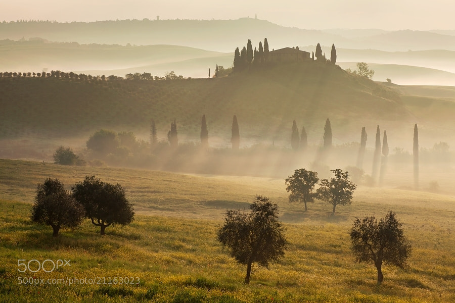 Photograph Tuscan landscape  by Daniel Řeřicha on 500px