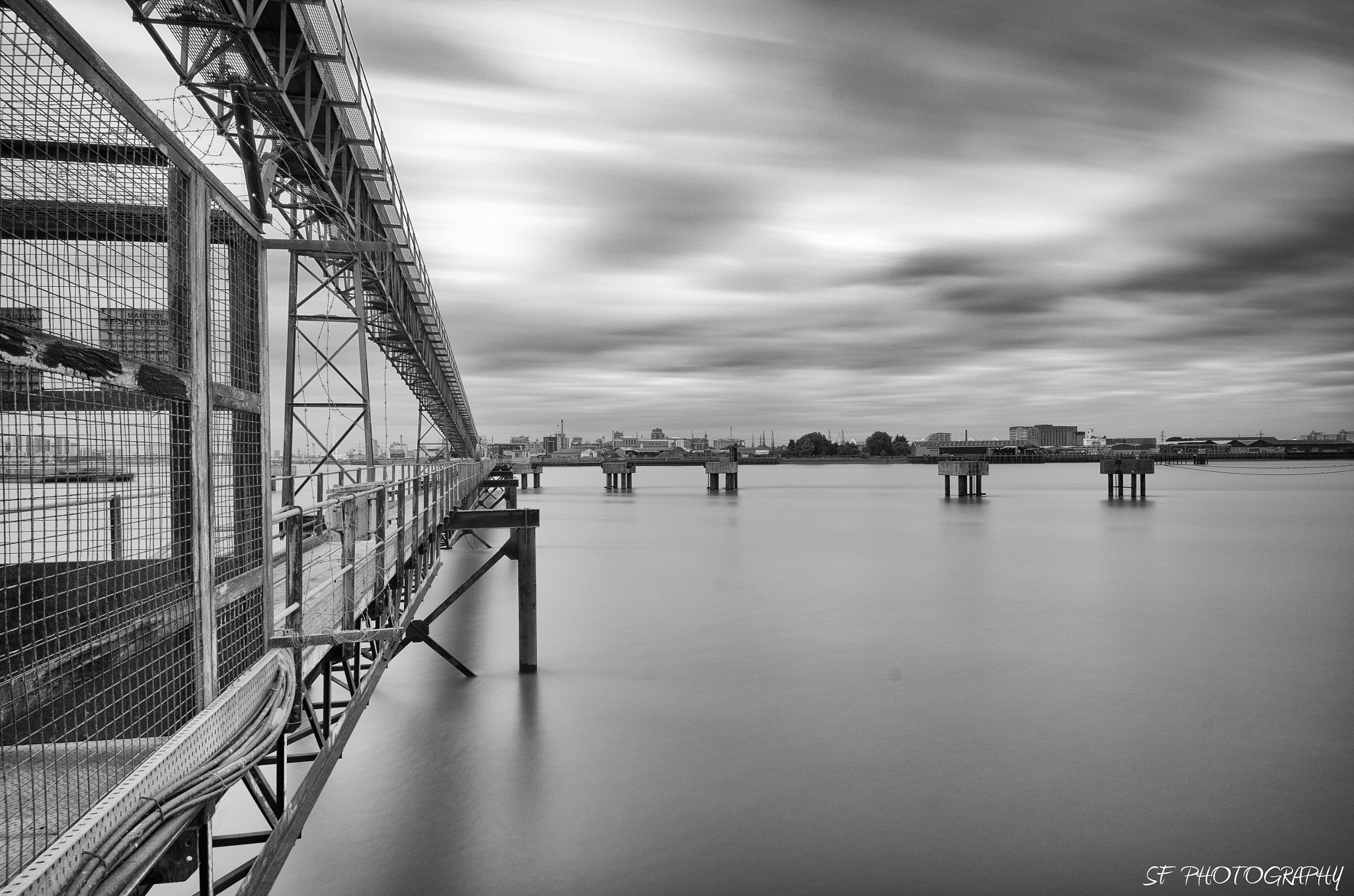 Photograph Industrial Thames by Sam Forde on 500px