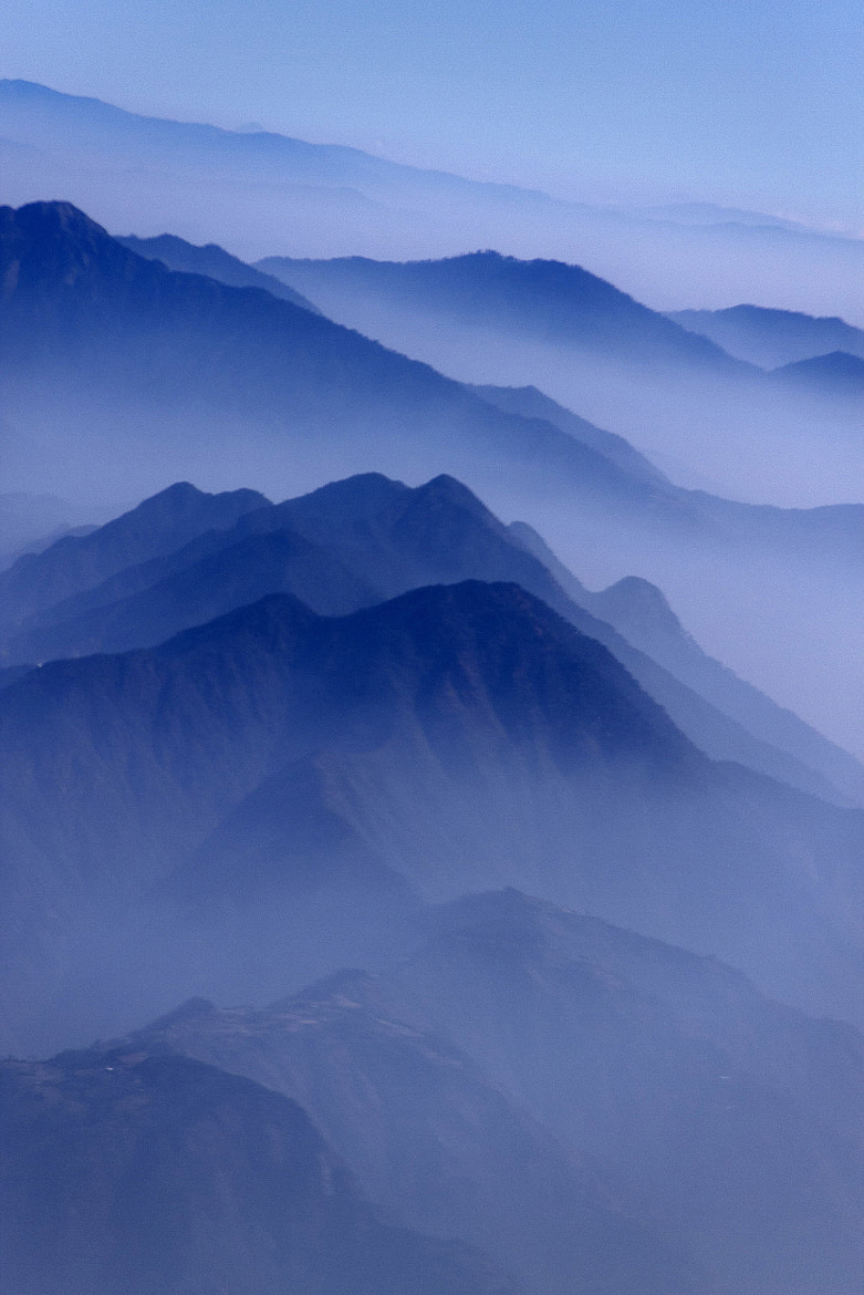 Photograph Layers of hills, Nepal by Ajay Pant on 500px
