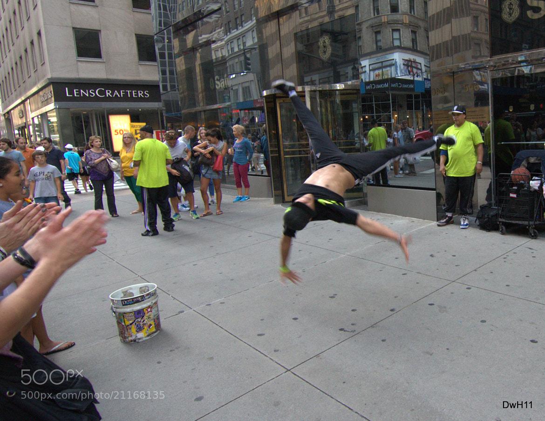 Photograph Street Dancer by Dale Hamblin on 500px