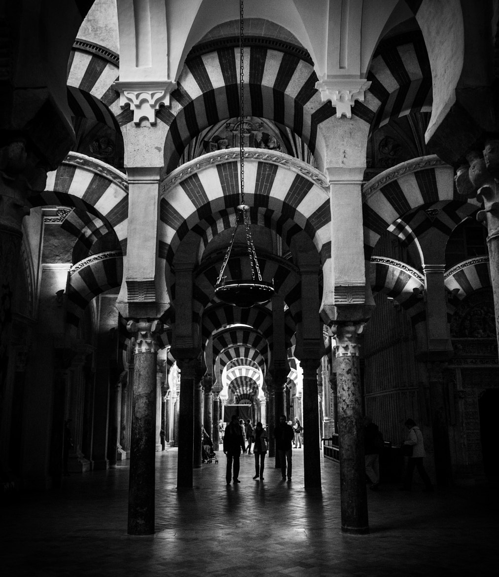Photograph Arcades in Córdoba's Mosque by Enrico Maria Crisostomo on 500px
