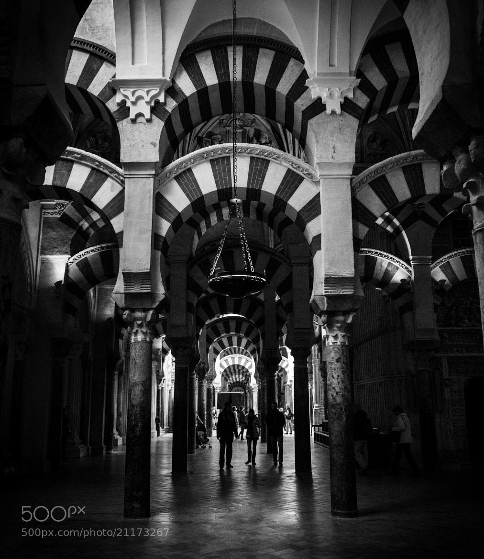 Photograph Arcades in Córdoba's Mosque by Enrico Maria Crisostomo on 500px