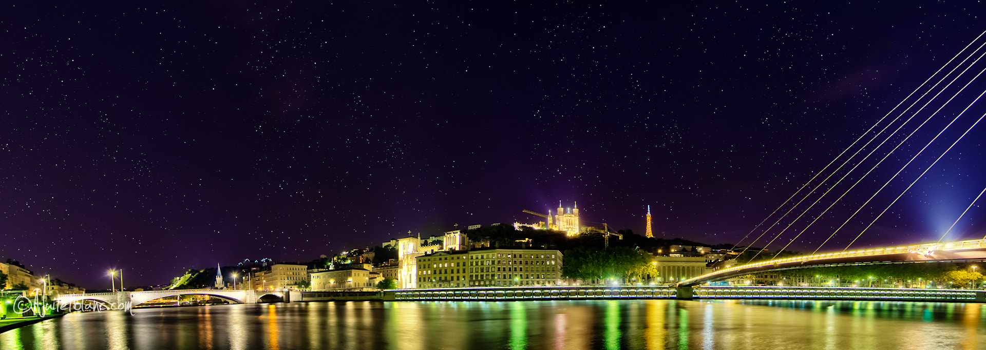 Photograph Lyon by night by Frederic B on 500px