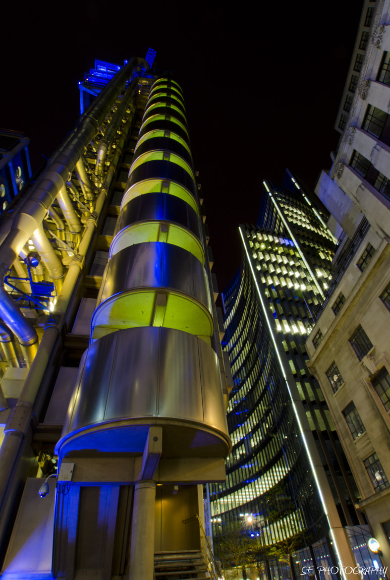 Photograph Lloyds Building by Sam Forde on 500px