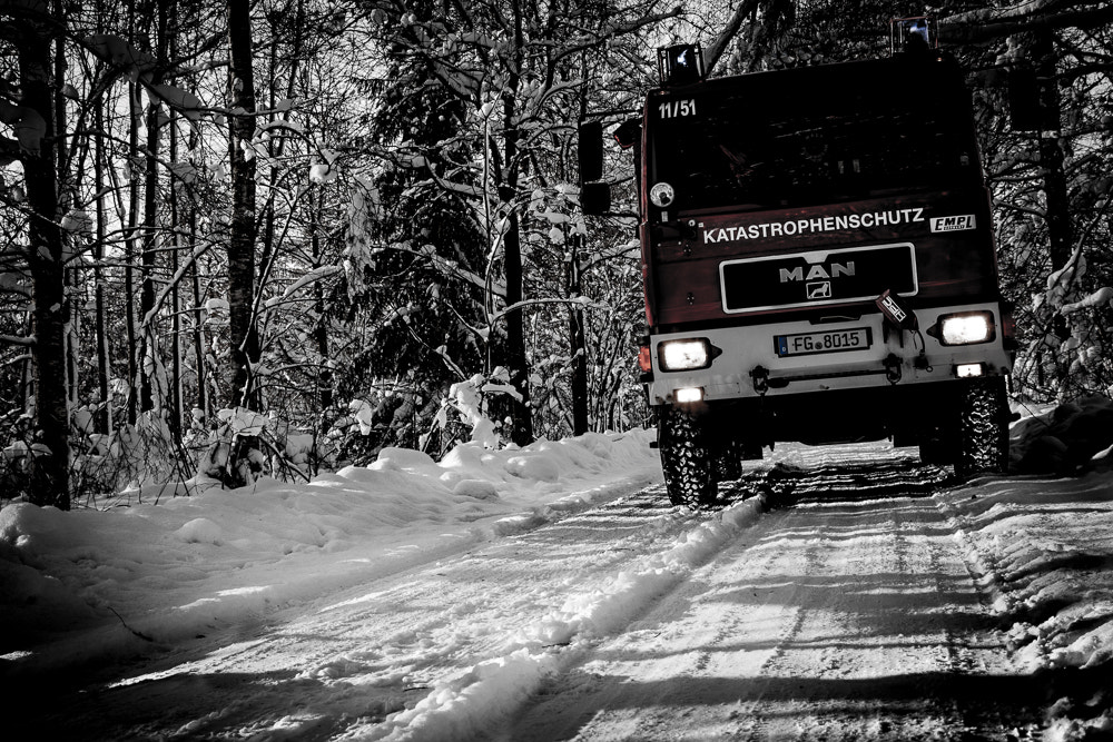 Photograph danger Firefighter Truck by Manuel Reichel on 500px