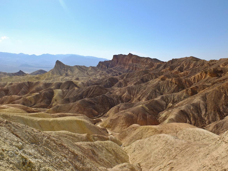 Photograph Zabriskie Point Death Valley by Manuel Perrone on 500px