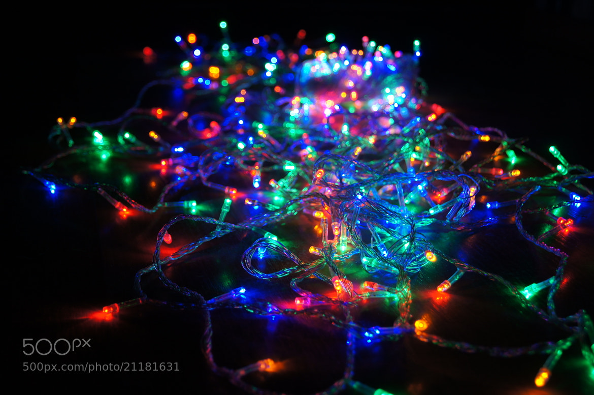 Photograph Christmas garland by Oleg Chu on 500px
