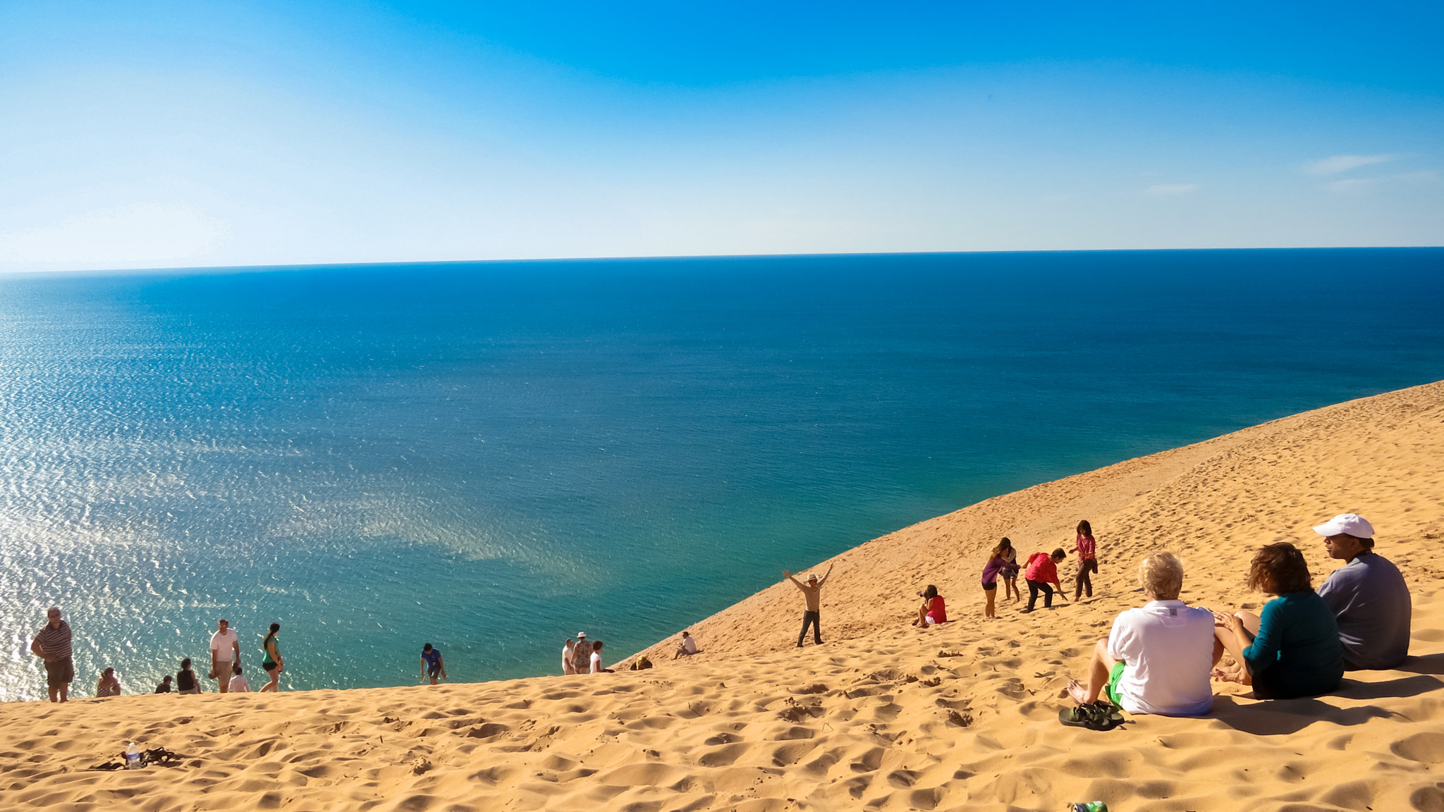 Photograph Dunes by the lake by Ram Rai on 500px