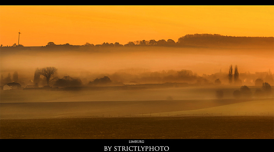 Photograph misty morning in Limburg by Patrick Strik on 500px