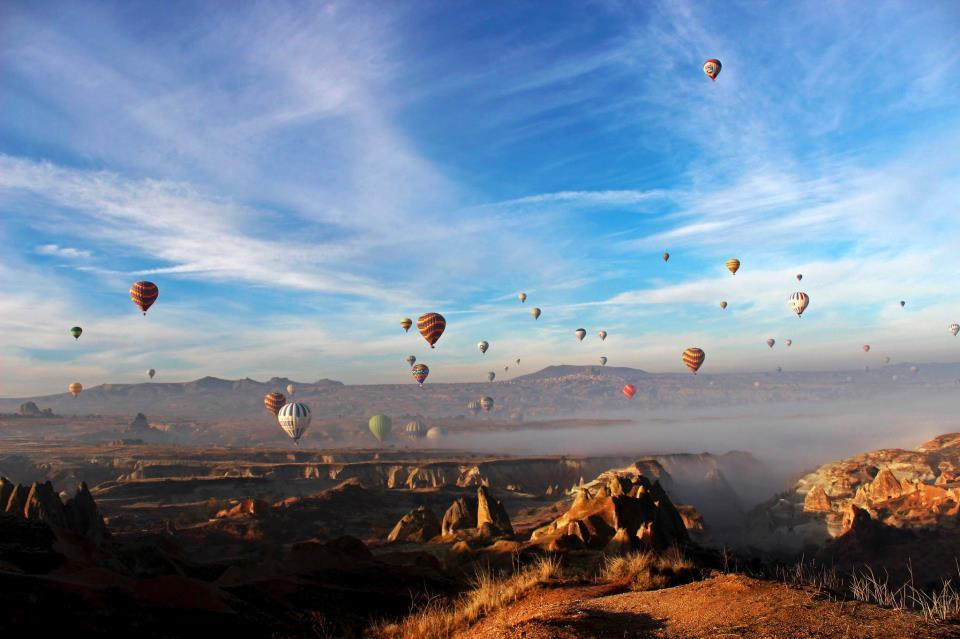 Photograph Dance of the baloons ... by Zeynep Gülcü on 500px