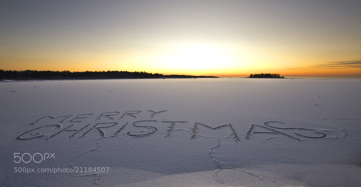 Photograph Merry Christmas by Sten Wiklund on 500px