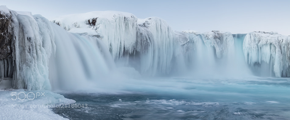 Photograph Godafoss - Waterfall of the Gods by David Clapperazzi on 500px