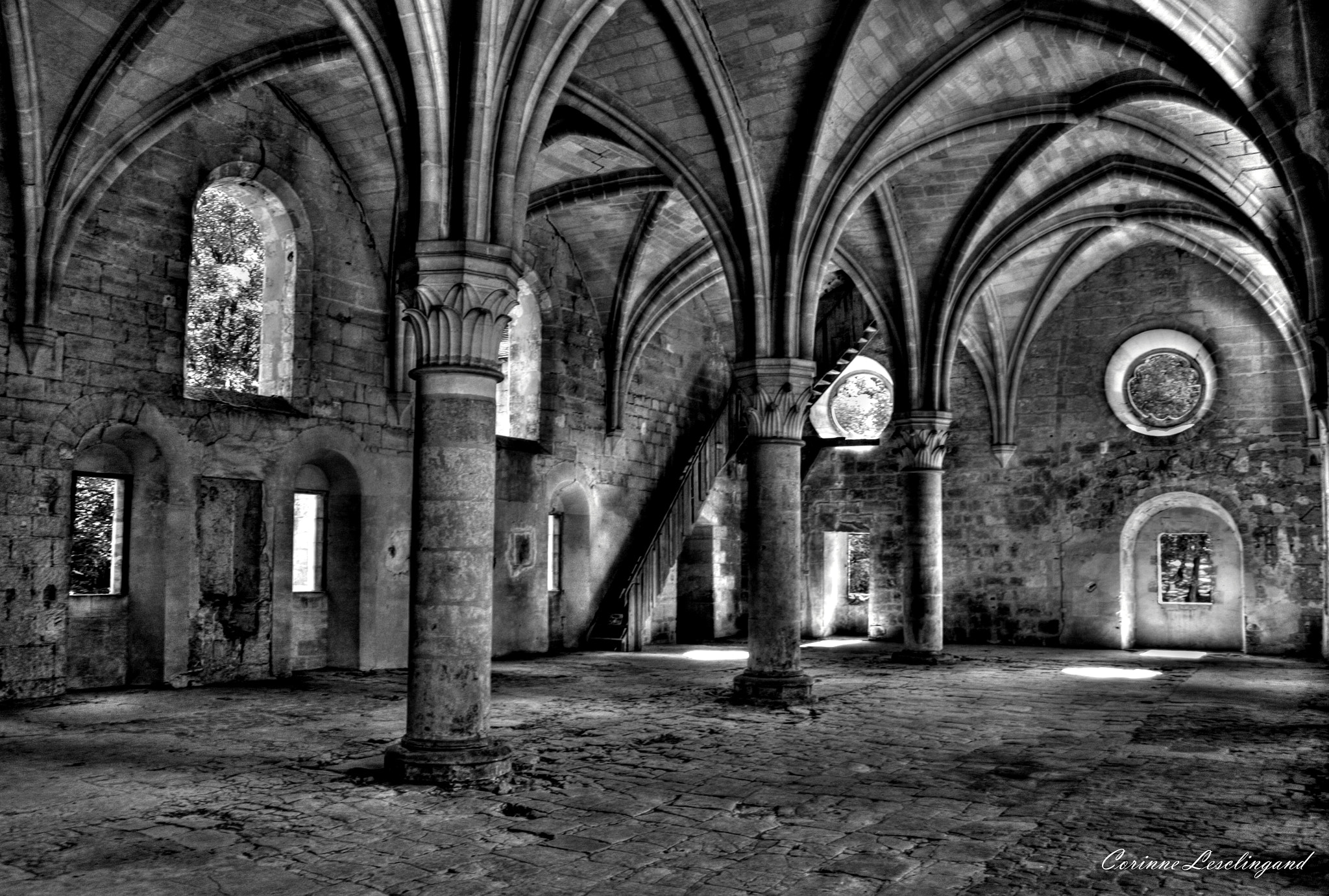 Photograph L'Abbaye du Val  (Val D'oise) by corinne Lesclingand on 500px
