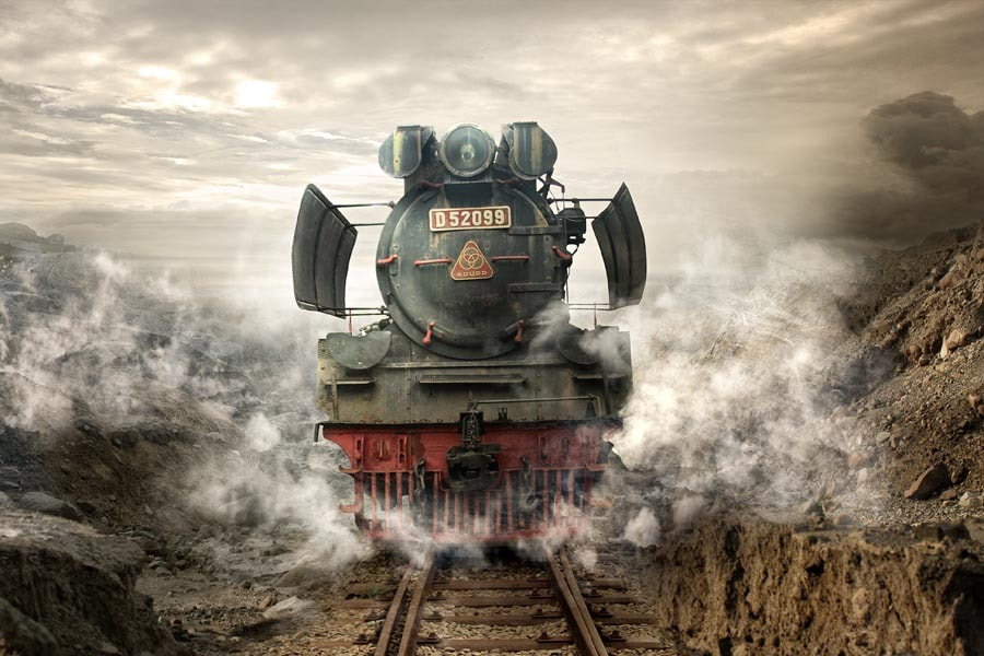 Photograph Old Loco... by budi 'ccline' on 500px