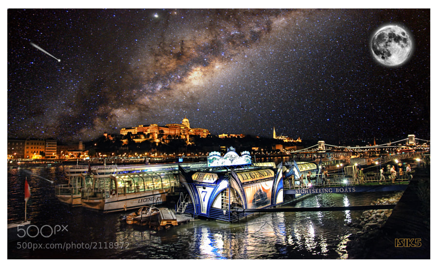 Photograph  Under the Milky Way HDR by Isik Mater on 500px