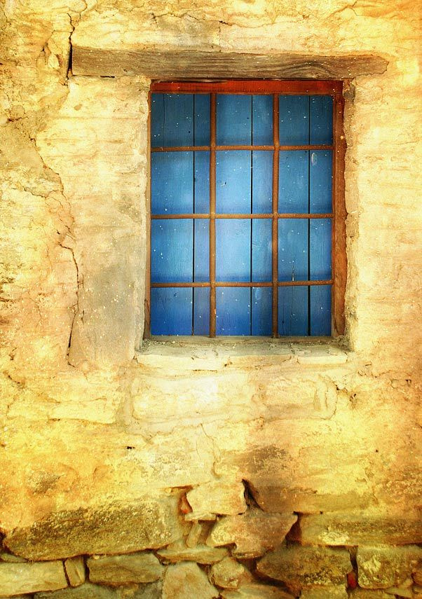 Photograph blue window by belu gheorghe on 500px
