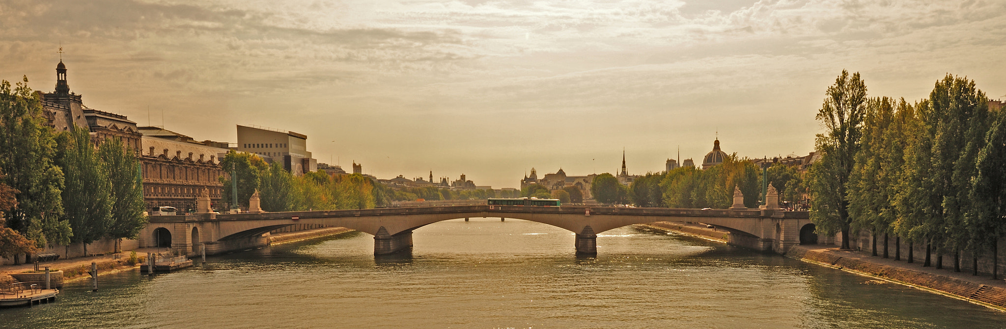 Photograph Bridge over the Seine by Long Zhu on 500px