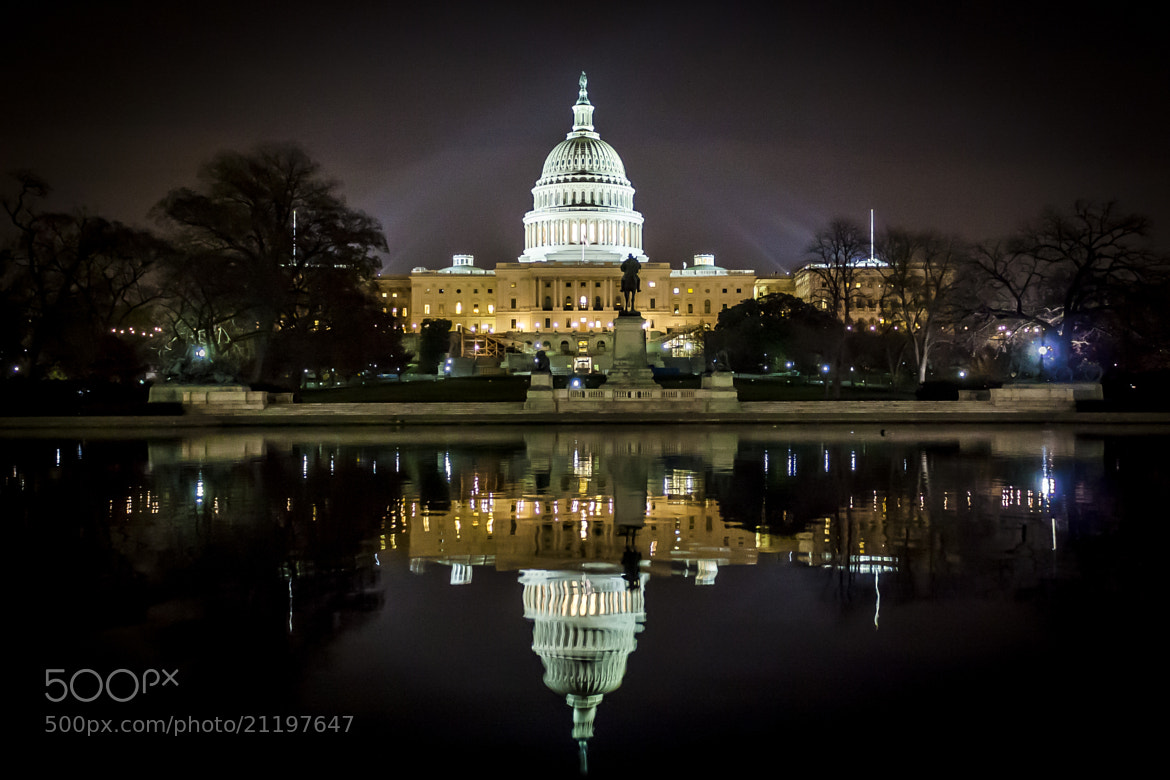 Photograph US Capitol by Jeff Davis on 500px