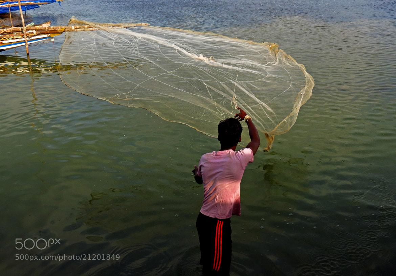 Photograph fishing by Sathya Narayanan on 500px