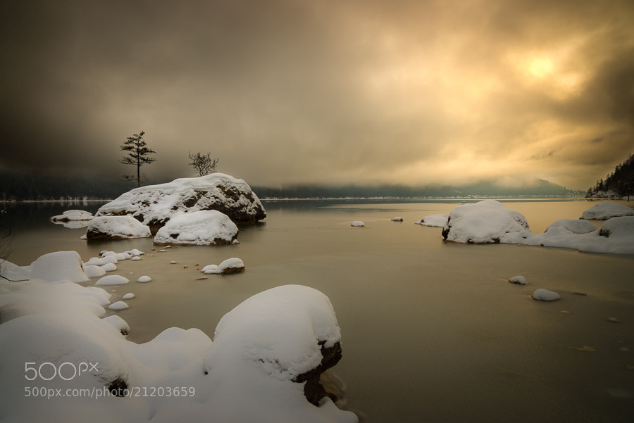 Photograph Winter Lake by Thomas Straubinger on 500px